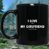 I Love It When My Girlfriend Lets Me Play Video Games - Video Gaming 11 oz. Black Mug I Love It When My Girlfriend Lets Me Play Video Games - Video Gaming 11 oz. Black Mug