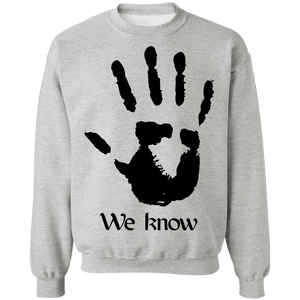 Dark Brotherhood We Know 3 Light Sweatshirt Dark Brotherhood We Know 3 Light Sweatshirt
