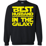 Best Husband In The Galaxy Crewneck Pullover Sweatshirt  8 oz. Best Husband In The Galaxy Crewneck Pullover Sweatshirt  8 oz.