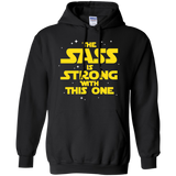 The Sass Is Strong With This One Pullover Hoodie 8 oz. Sass Sassy