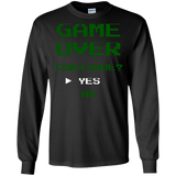 Game Over Continue Video Gaming Shirt Game Over Continue Video Gaming Shirt