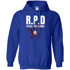 RPD Police Department Pullover Hoodie 8 oz. Resident Evil RPD Police Department