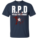 RPD Police Department Cotton T-Shirt Resident Evil RPD Police Department