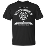 College of Winterhold T-Shirt Elder Scrolls Skyrim College of Winterhold T-Shirt