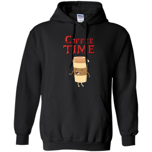 Coffee Time - Coffee Lover Pullover Hoodie 8 oz. Coffee Time - Coffee Lover Pullover Hoodie 8 oz.
