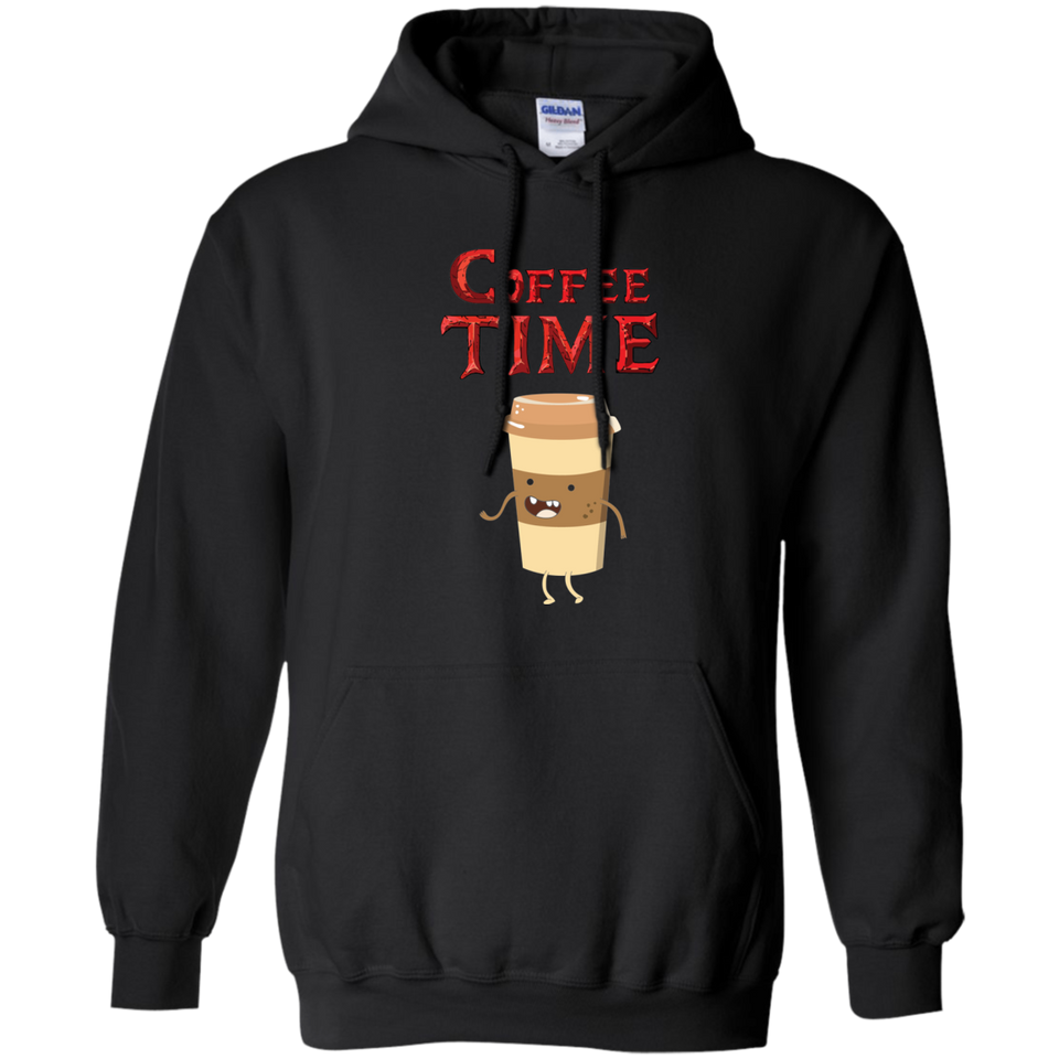 Coffee Time - Coffee Lover Pullover Hoodie 8 oz.