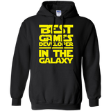 Best Games Developer In The Galaxy Pullover Hoodie 8 oz. Best Games Developer In The Galaxy Pullover Hoodie 8 oz.