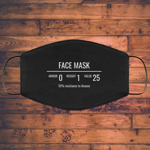 Fantasy RPG Face Mask Video Game Sublimation Face Mask 2 Fantasy RPG Face Mask Video Game Sublimation Face Mask 2