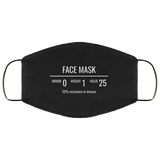 Fantasy RPG Face Mask Video Game Sublimation Face Mask 2 (C19) Fantasy RPG Face Mask Video Game Sublimation Face Mask 2 (C19)