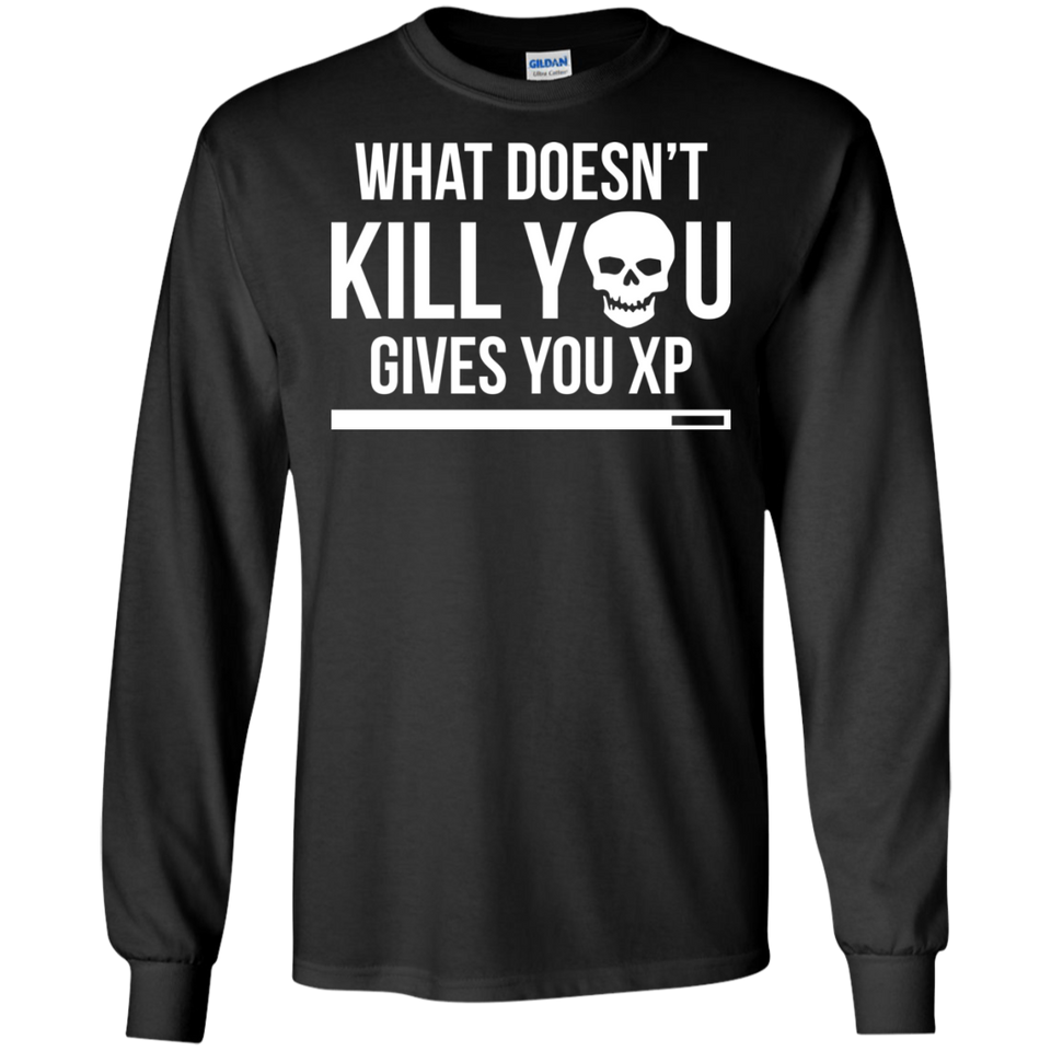What Doesn't Kill You Gives You XP - RPG