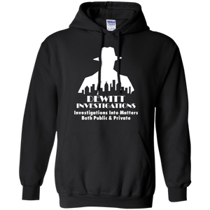 DeWitt Investigations Pullover Hoodie 8 oz. Bioshock Big Daddy Would You Kindly Rapture