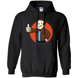 Todd Boy Vault Boy RPG Video Game Pullover Hoodie 8 oz. Todd Howard Fallout Bethesda