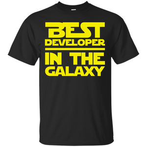 Best Developer In The Galaxy Shirt