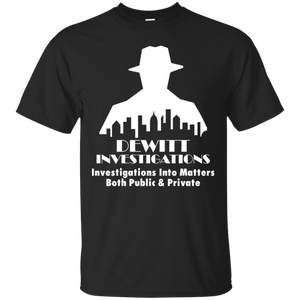 DeWitt Investigations T-Shirt Bioshock Big Daddy Would You Kindly Rapture