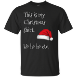 This Is My Christmas Shirt Xmas Holidays Cotton T-Shirt This Is My Christmas Shirt Xmas Holidays Cotton T-Shirt