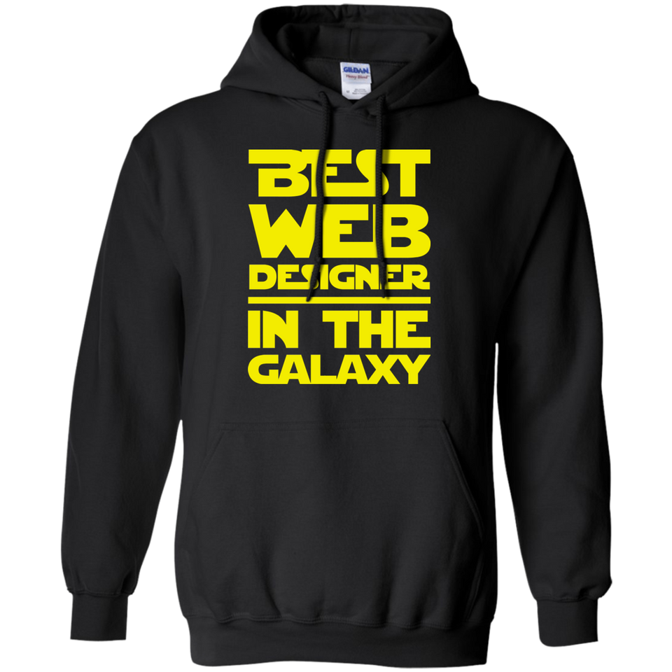 Best Web Designer In the Galaxy Shirt
