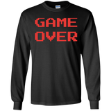 Game Over Retro Classic Video Gaming Shirt Game Over Retro Classic Video Gaming Shirt