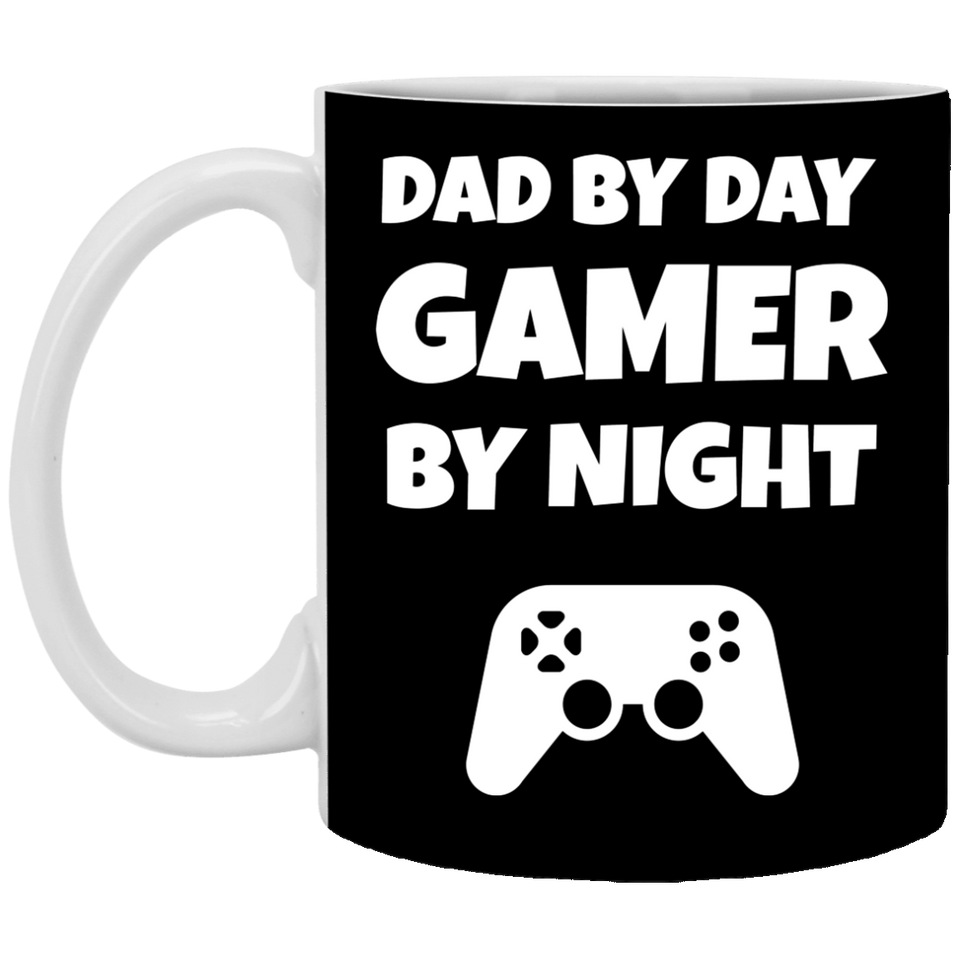 Dad By Day Gamer By Night 11 oz. Mug