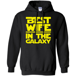 Best Wife In The Galaxy Pullover Hoodie 8 oz. Best Wife In The Galaxy Pullover Hoodie 8 oz.