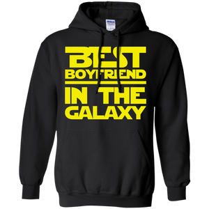 Best Boyfriend In The Galaxy Pullover Hoodie