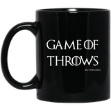 Game Of Throws Brazilian Jiu Jitsu Judo MMA BJJ 11 oz. Black Mug Brazilian Jiu-Jitsu BJJ Brazilian Jiu Jitsu Coffee Mug