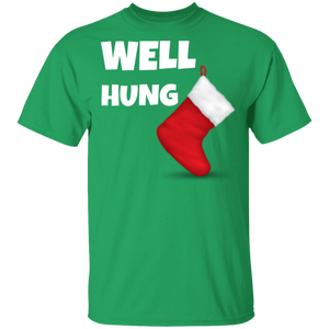 Well Hung Christmas Ugly Xmas T-Shirt