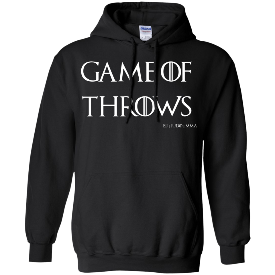 Game Of Throws Brazilian Jiu Jitsu Judo MMA Pullover Hoodie 8 oz.