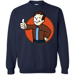 Todd Boy Vault Boy RPG Video Game Crewneck Pullover Sweatshirt  8 oz. Todd Howard Fallout Bethesda