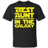 Best Aunt In The Galaxy T-Shirt Best Aunt In The Galaxy T-Shirt