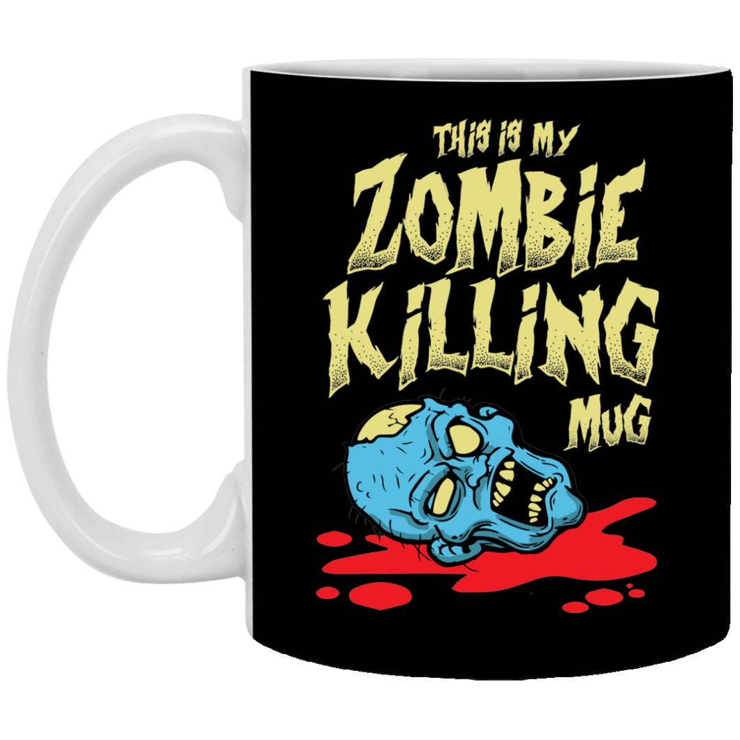 This Is My Zombie Killing Mug 11 oz. White Mug