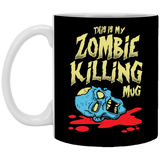 This Is My Zombie Killing Mug 11 oz. White Mug This Is My Zombie Killing Mug 11 oz. White Mug