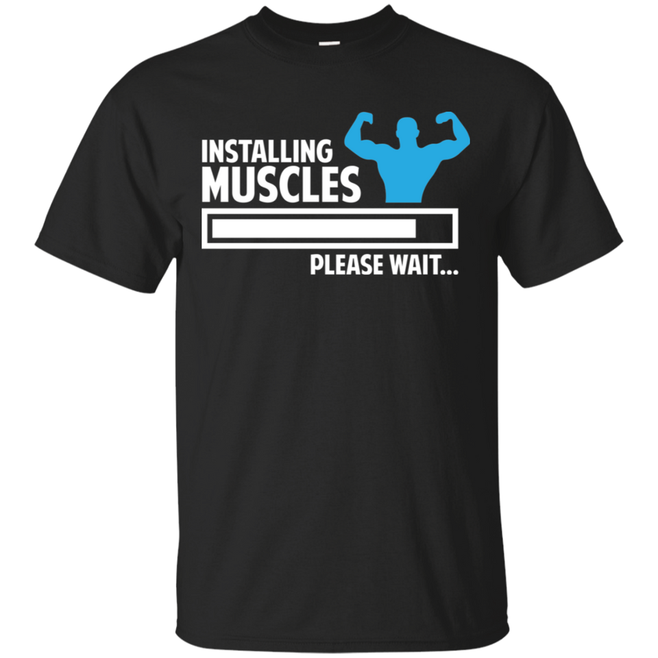 Installing Muscles Gym Workout Ultra Cotton T-Shirt