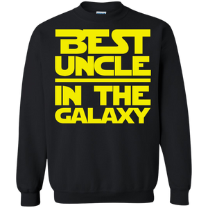 Best Uncle In The Galaxy Crewneck Pullover Sweatshirt  8 oz. Best Uncle In The Galaxy Crewneck Pullover Sweatshirt  8 oz.