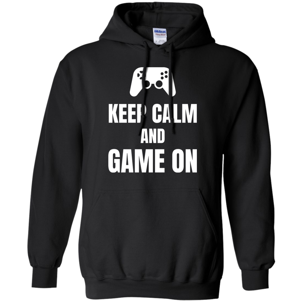 Keep Calm And Game On Video Gaming Shirt