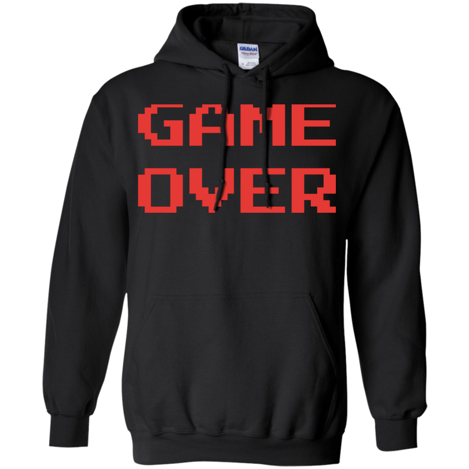 Game Over Retro Classic Video Gaming Shirt