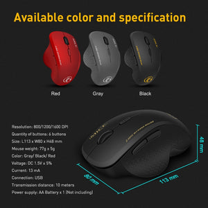 Wireless Computer Ergonomic Gaming Mouse Wireless Computer Ergonomic Gaming Mouse
