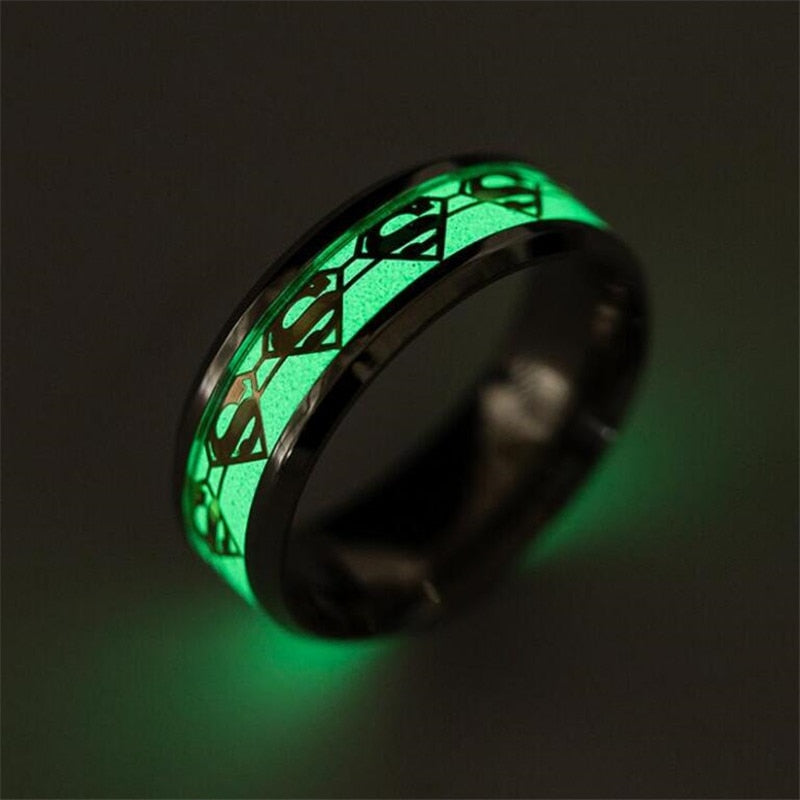 Luminous Glow In The Dark Ring