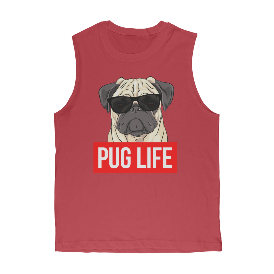 Pug Life - Pug Lover Premium Adult Muscle Top