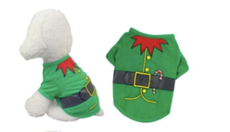 Christmas Dog Jumper Costume For Small Dog