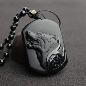 Wolf Pendent Necklace wolf necklace, wolf pendant