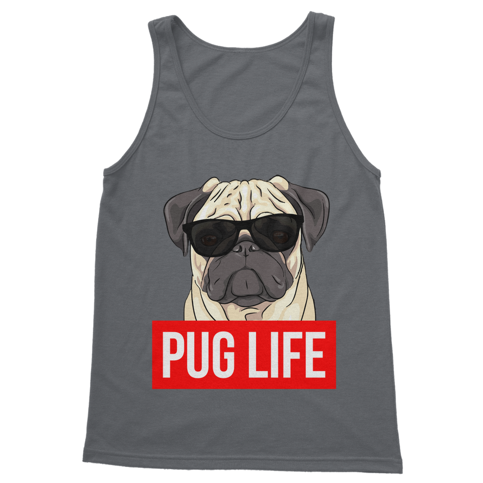 Pug Life - Pug Lover Classic Adult Vest Top