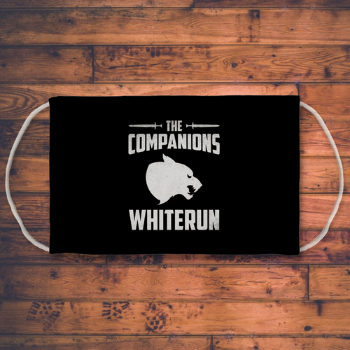 The Companions Sublimation Face Mask