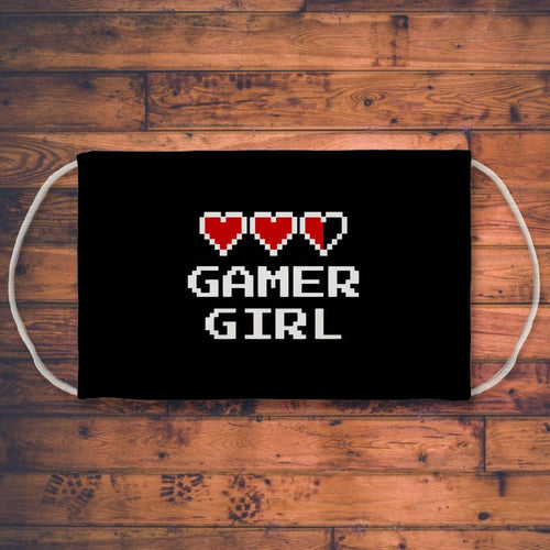 Gamer Girl Sublimation Face Mask