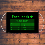 Post Apocalyptic RPG Sublimation Face Mask fallout face mask