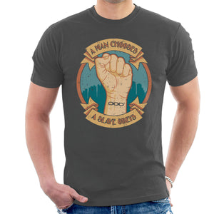A Man Chooses A Slave Obeys Rapture T-shirt Bioshock A Man Chooses A Slave Obeys Rapture T-shirt