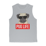 Pug Life - Pug Lover Premium Adult Muscle Top Pug Life - Pug Lover Premium Adult Muscle Top