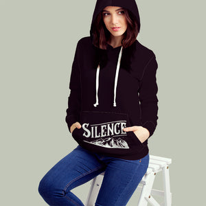 Sometimes It's Better To Let Silence Do The Talking All Over Print Hoodie Sometimes It's Better To Let Silence Do The Talking All Over Print Hoodie
