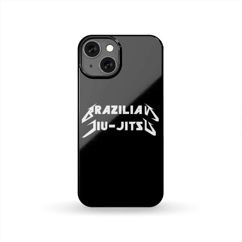 Brazilian Jiu-Jitsu Metal BJJ Phone Case