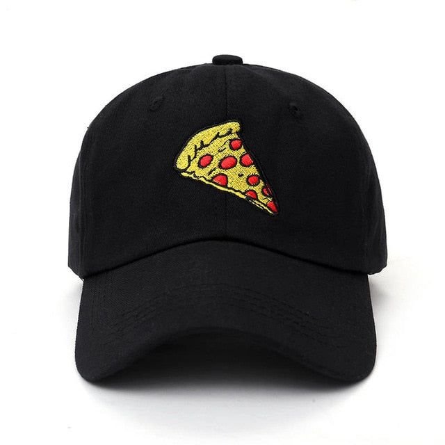 Pizza Embroidered Baseball Cap