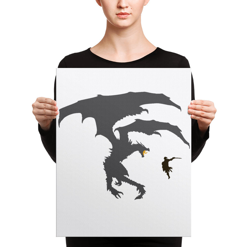 Dragon Fantasy RPG Canvas Print